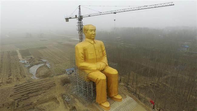 مجسمه-طلایی-چین