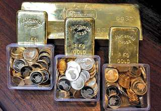 روایت چهار بازار در نیمه اول 94/ پرش دلار، سقوط طلا، سکه و بورس