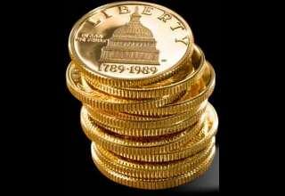 فروش سکه طلا در آمریکا 181 درصد افزایش یافت/ فروش سکه نقره رکورد 29 ساله زد
