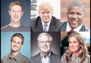 ثروتمندترین آمریکاییها