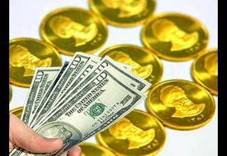افت 8 هزار تومانی نرخ سکه/ دلار در مسیر کاهش