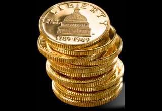 فروش سکه های طلا و نقره در آمریکا طی سال 2015 افزایش یافت