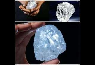 بزرگترین الماس کشف شده در ۱۰۰ سال اخیر + عکس