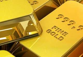 قیمت جهانی طلا تحت تاثیر افزایش ارزش دلار آمریکا با کاهش روبرو شد
