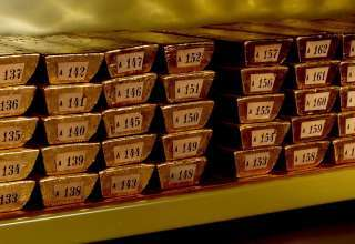 کاهش 40 درصدی خرید طلا توسط بانکهای مرکزی جهان در سه ماه دوم
