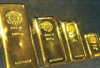 طلا به کمترین سطح در 2 هفته گذشته رسید / فشار دلار و نفت بر فلز زرد