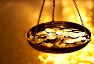 قیمت طلا تحت تاثیر کاهش ارزش دلار به بالاترین سطح در یک ماه اخیر رسید