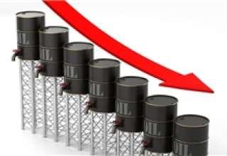 قیمت نفت کمتر از ۵۷ دلار شد