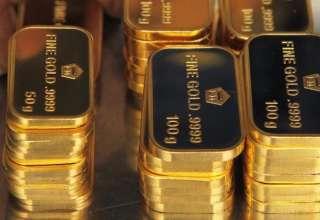 احتمال افزایش بیشتر قیمت طلا تحت تاثیر افت ارزش دلار و اوراق قرضه وجود دارد