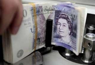 ارزش پوند انگلیس به کمترین میزان ۳ ماه گذشته رسید