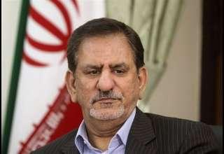 جهانگیری: اقتصاد ایران در برابر تحریم های آمریکا مقاوم است/ عکس العمل مناسب نشان می دهیم
