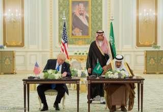عربستان و آمریکا ۳۸۰ میلیارد دلار قرارداد جدید امضا کردند