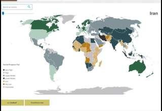 رتبه ۸۸ شاخص پیشرفت اجتماعی جهانی به ایران رسید + عکس
