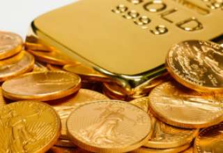قیمت طلا در پایان مبادلات روز جمعه به بالاترین سطح در یک هفته گذشته رسید