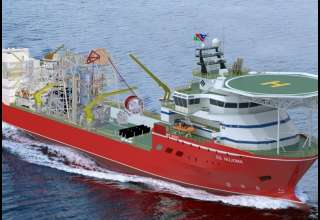 بزرگترین کشتی کشف الماس دنیا + تصاویر