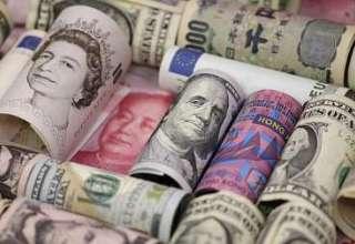 افزایش قیمت دلار و یورو و افت پوند بانکی