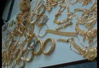 کشف نزدیک به 14 کیلو طلای خارجی قاچاق
