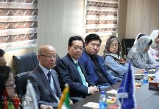 دیدار هیئت تجاری طلا و جواهر هنگ کنگ با نمایندگان بخش تولید مصنوعات طلای کشور