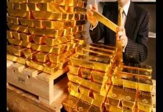 طلا به کمترین قیمت دو هفتهای خود رسید