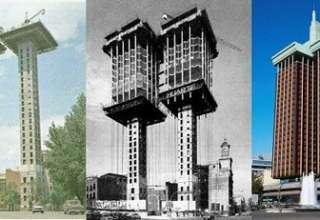 ساختمانی که از بالا به پایین ساخته شده (+عکس)
