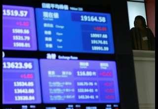 سهام آسیایی علیرغم افت والاستریت سود کرد/ دلار بالا رفت