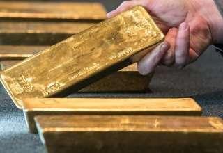 قیمت جهانی طلا به پایین ترین سطح در یک هفته اخیر رسید