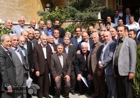 دیدار نوروزی فعالین صنف طلا و جواهر با هیئت مدیره اتحادیه طلای تهران
