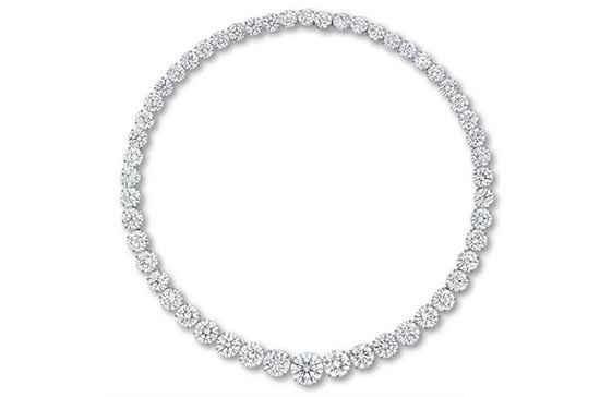 گردنبند الماس نشان کریستی (Christie)