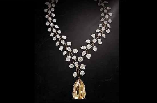 گردنبند الماس بی نظیر (Incomparable)
