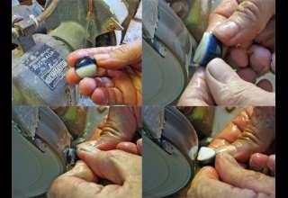 چگونه می توان اپال مشکی را تراش داد – قسمت اول