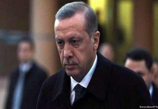 قهر اردوغان در مراسم تشییع جنازه کلی