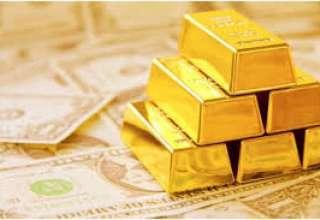 افت ارزش دلار و سهام موجب افزایش نسبی قیمت طلا شد