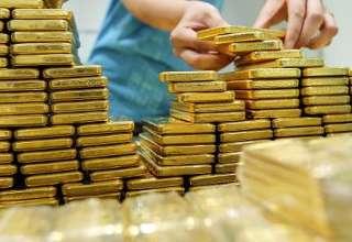 قیمت طلا تحت تاثیر کاهش ارزش دلار آمریکا به بالای 1280 دلار رسید