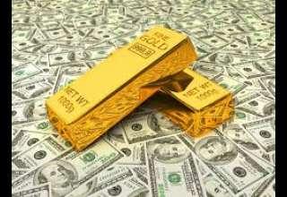 ادامه روند نزولی قیمت طلا با افزایش ارزش دلار آمریکا