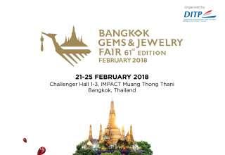 افتتاح شصت و یکمین نمایشگاه طلا و جواهر بانکوک