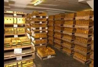 رتبه بندی کشورهای جهان از نظر ذخایر طلا/روسیه از چین پیشی گرفت
