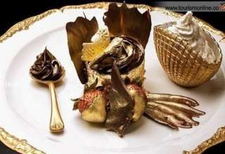تصویر / کاپ کیک طلایی ۳ میلیون و ۶۰۰ هزار تومانی!
