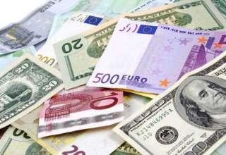 کاهش نرخ مبادلهای ۲۲ ارز/ افت قیمت رسمی دلار و یورو