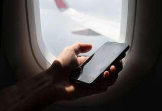 هزینه تماس و پیامک هنگام پرواز چقدر است؟