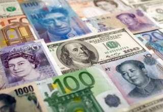 بهای انواع ارز در بازار روز یکشنبه ۲ اردیبهشت