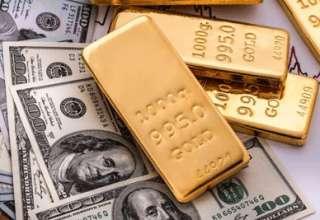 قیمت طلا نزدیک به پایین ترین سطح در 5 هفته اخیر رسید