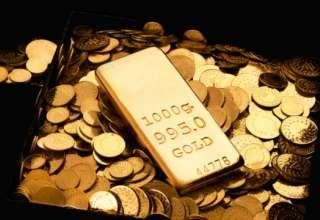 قیمت طلا با توجه به افزایش ارزش دلار آمریکا تغییر چندانی نکرد