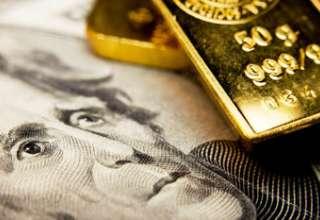 قیمت طلا تحت تاثیر افزایش ارزش دلار آمریکا به 1288 دلار رسید