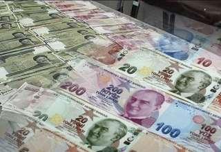 لیر ترکیه ۱۷ درصد ارزش خود را از دست داد