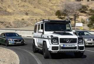 خودروهای خاص و گران قیمت در تهران + تصاویر