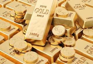 قیمت طلا با افزایش نسبی روبرو شد/ دلار آمریکا مهمترین مانع رشد قیمت طلا