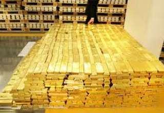 قیمت جهانی طلا به پایین ترین سطح خود در یک سال اخیر رسید