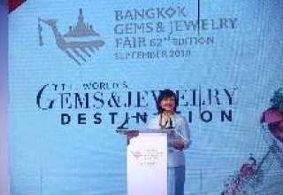 برگزاری شصت و دومین نمایشگاه طلا و جواهرات و سنگهای قیمتی بانکوک