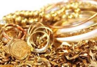 افزایش قیمت طلا در پایان مبادلات روز جمعه