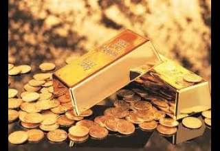 قیمت طلا نزدیک به پایین ترین سطح خود در یک هفته اخیر رسید